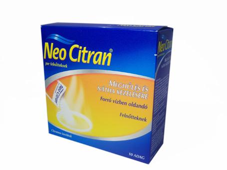 Neo Citran por felnőtteknek 10x *