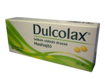 Dulcolax bélben oldódó drazsé 30x *