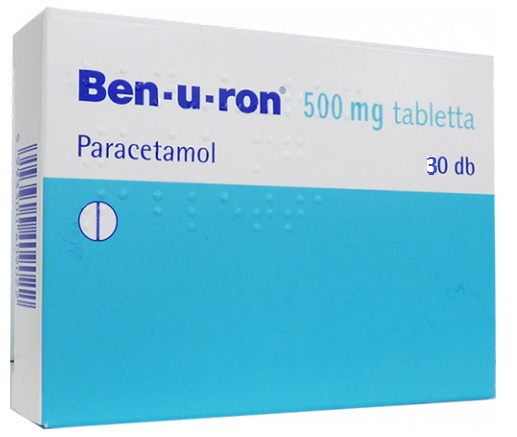 Ben-u-ron 500mg tabletta 20x *