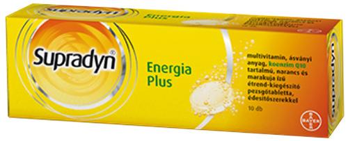 Supradyn Energia Plus pezsgőtabletta 10x *