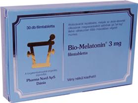 Bio melatonin 3mg filmtabletta 30x -
