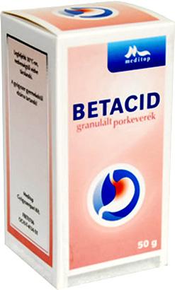 Betacid granulált porkeverék 50g *