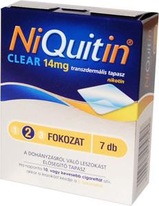 NiQuitin CQ Clear 14 mg transzdermális tapasz 7x *