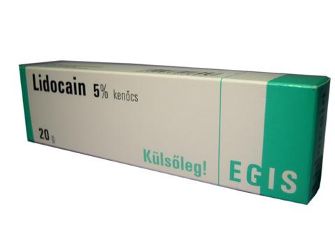Lidocain kenõcs 5% 20g *