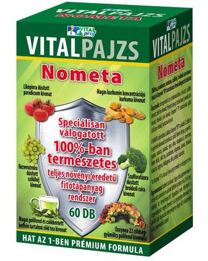Vitalpajzs Nometa tabletta 30x