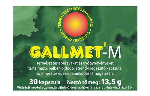 GALLMET-M kapszula 30x *