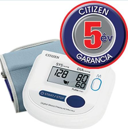 Vérnyomásmérő felkaros automata CITIZEN *