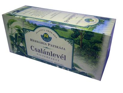 Csalánlevél filteres tea 25x Herbária *