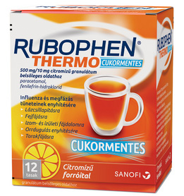 Rubophen Thermo cukormentes 12x