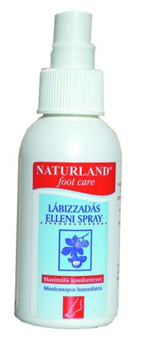 Lábizzadás elleni spray 100 ml Naturland *