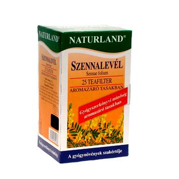Szennalevél filtertea 25x1,0 g Naturland