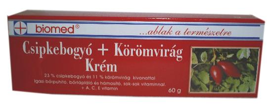 Csipkebogyó +körömvirágkrém 60g Biomed *
