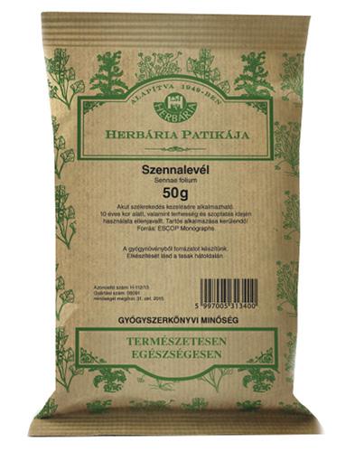 Szennalevél 50g Herbária *