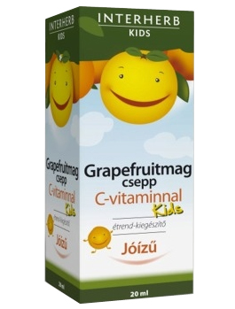 Grapefruitmag csepp Kids C-vitaminnal 20ml Interherb *