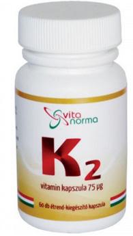 K2 VITAMIN kapszula 30x Vitanorma