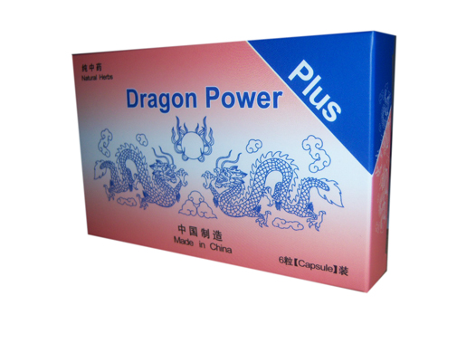 DRAGON POWER PLUSZ kapszula 6x *
