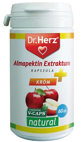 Almapektin Extraktum kapszula 60x Dr. Herz  - </b><font color=red>JELENLEG nem rendelhető!</font>