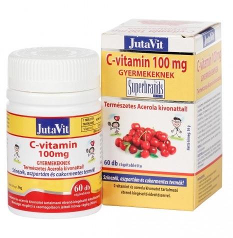 Jutavit C vitamin gyermekeknek 60x