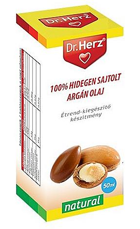 Dr. Herz Hidegen sajtolt argánolaj 50ml