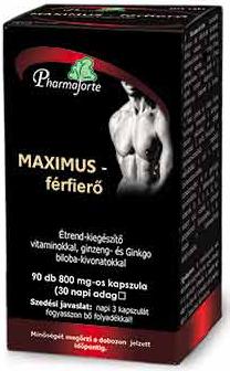 MAXIMUS Férfierő kapszula 90x *
