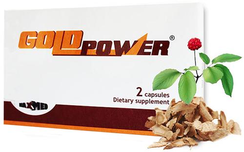 Gold Power kapszula 2x *