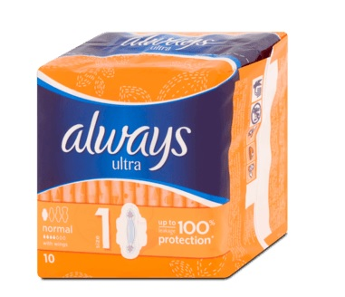 Always betét Ultra Normal Plus 10x