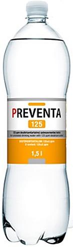 Preventa-125 csökkentett deutériumtartalmú ivóvíz 1,5l szénsavmentes *