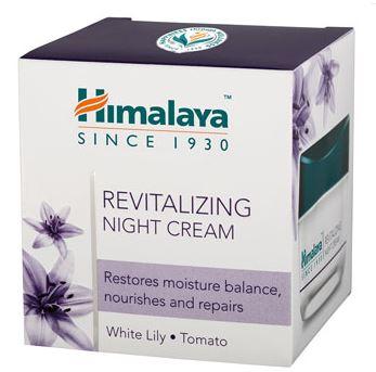 Revitalizáló éjszakai arckrém 50ml Himalaya Herbals
