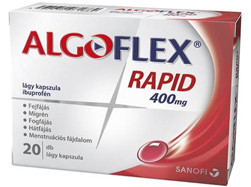 Algoflex Rapid 400 mg lágy kapszula 20x *