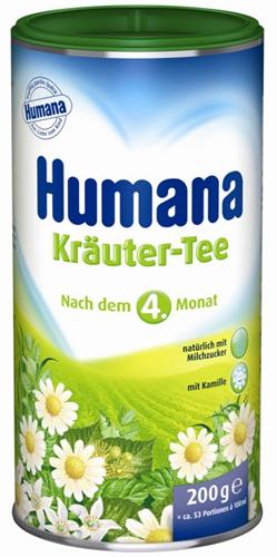 Humana tea gyógynövény 4 hónapos kortól 200g *
