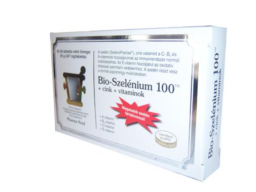 Bio-Szelénium 100 + cink + vitaminok 60x *