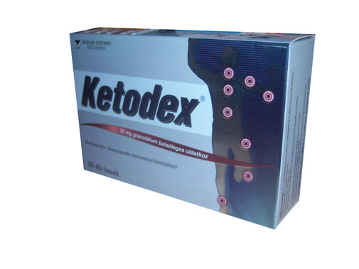Ketodex tabletta 25mg 20x *