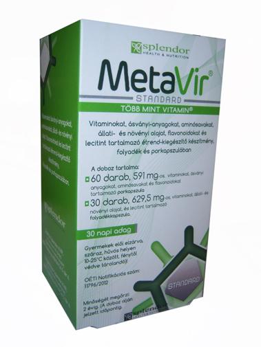MetaVir kapszula 90x *