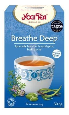 Mély lélegzet tea 17x Yogi bio