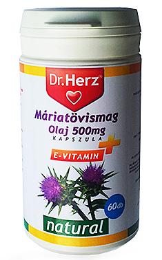 Máriatövismag olaj kapszula 60x Dr. Herz