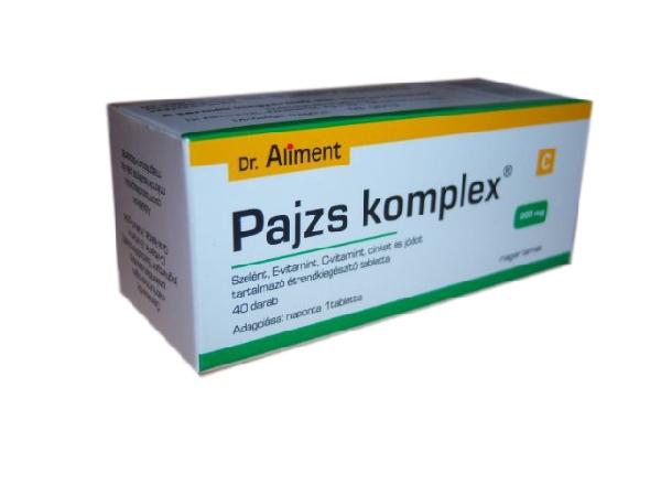 Pajzs komplex tabletta 40x Dr. Aliment *