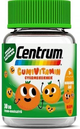 Centrum Gumivitamin gyermekeknek narancs ízű 30x