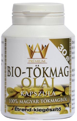 Prémium Bio Tökmagolaj kapszula 30x Celsus