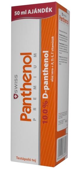 Panthenol premium 10% testápoló 250ml