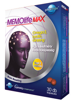 MEMOLife MAX kapszula 30x Pharmax