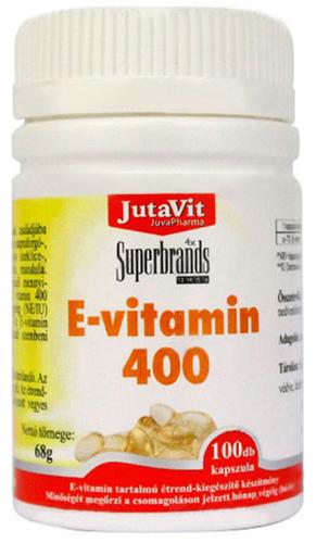 E vitamin 400 kapszula 100x Jutavit