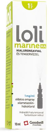 Lolimarine HA 1 mg/ml oldatos orrspray 10ml