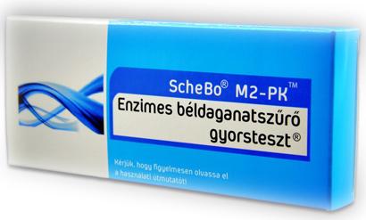 ScheBo® M2-PK Quick béldaganatszűrő gyorsteszt
